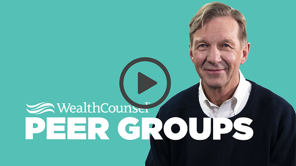Watch Dick Cross talk about Peer Groups!